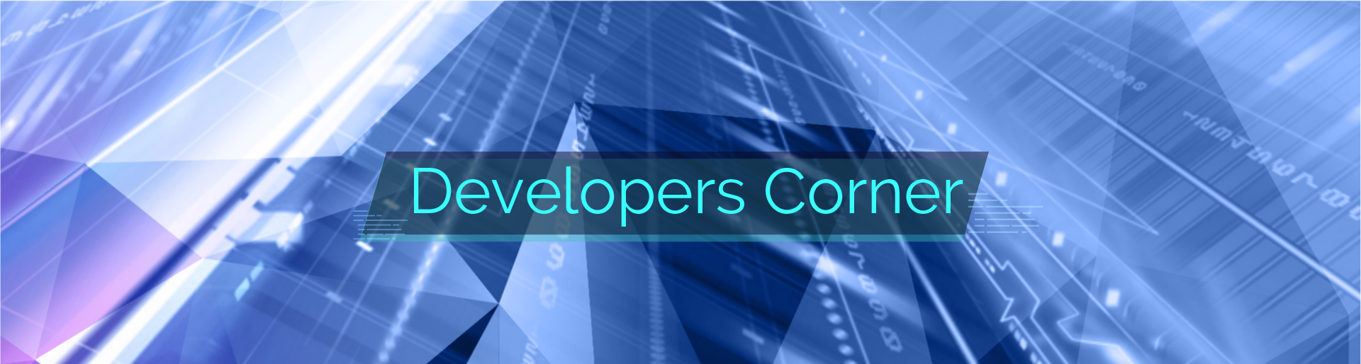 Developers Corner